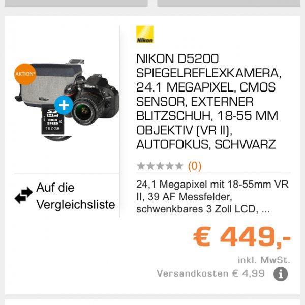 Nikon d5200 set