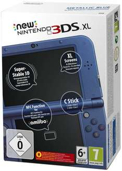 [ebay.de] New Nintendo 3DS XL in schwarz oder blau