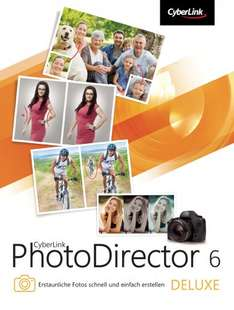 CyberLink PhotoDirector Deluxe 6 (Win) gratis