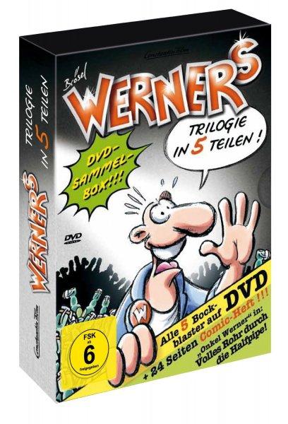 [Amazon.de] Werner - Comic-Box (5 DVDs) 23,97 € für Prime Kunden