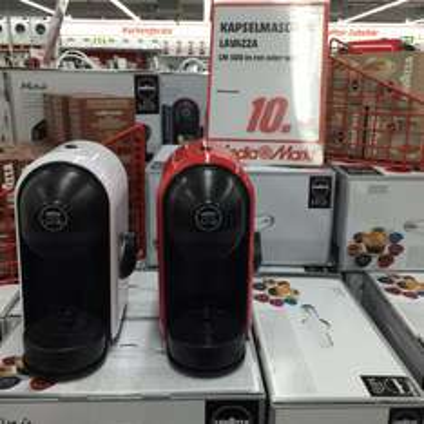 [Media Markt Potsdam] Lavaza LM 500 weiß oder rot 10,-