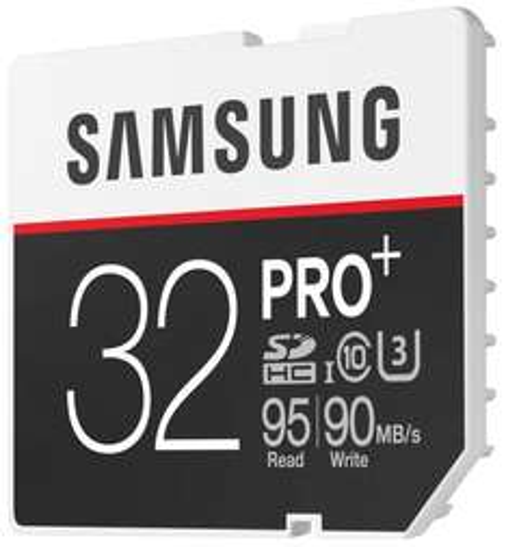 Samsung SDHC 32GB PRO Plus UHS-I Grade U3 Class 10 mit Amazon Prime 18,60€