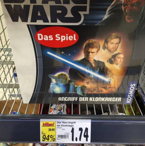 Star Wars Angriff der Klonkieger