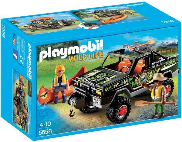 PLAYMOBIL 5558 - Abenteuer-Pickup @ Amazon Prime