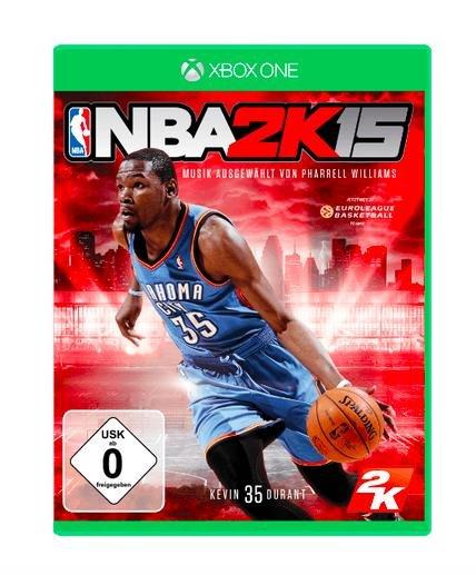 NBA 2K15 (Xbox One) für 12€ bei Media Markt