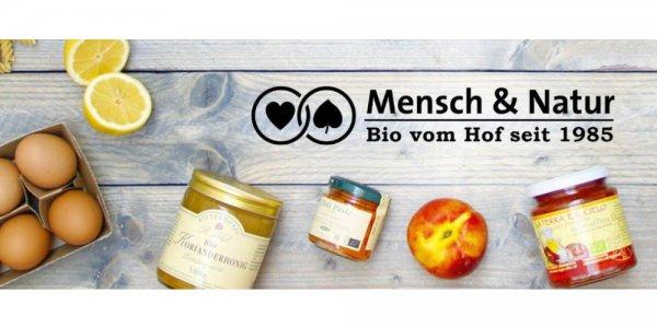 3,90€ für 15€ für Bio-Lebensmittel im Mensch & Natur Onlineshop