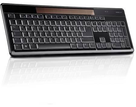 Speedlink CELES Wireless Solar Keyboard black (DEU Layout - QWERTZ) B-WARE für 16,31 € @ Allyouneed