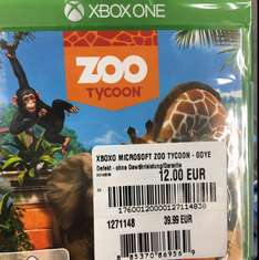 Zoo tycon für Xbox one Conrad Hamburg Altona Lokal