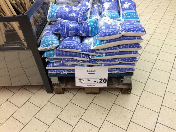 Streusalz 5 kg Beutel