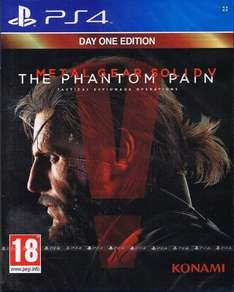 "Metal Gear Solid 5 ""The Phantom Pain - Day 1 Edition"" PS4 & XBox One - 33,90 € inkl. VK"