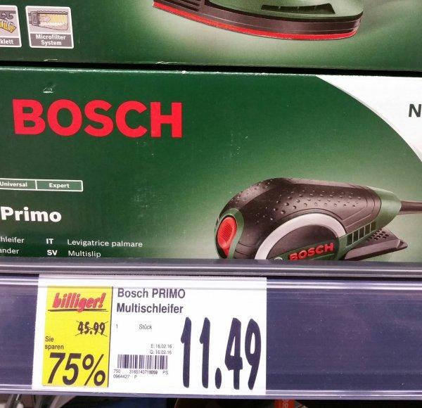 [Siegburg lokal Kaufland] Bosch PSM Primo Schleifgerät für 11.49€