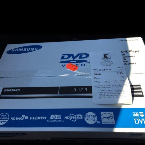 [Kaufland Wilhelmshaven] Samsung DVD-D530