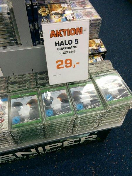 (Lokal Saturn Hamburg)  Halo 5 Xbox One