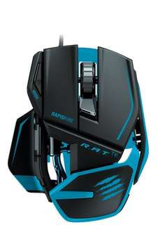 [Amazon Blitzangebot] Mad Catz R.A.T.TE Gaming Maus, Matt Schwarz