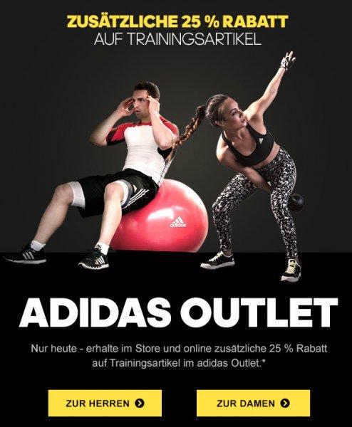 Adidas & Reebok: Heute 25% extra Rabatt auf reduzierte Trainingsprodukte