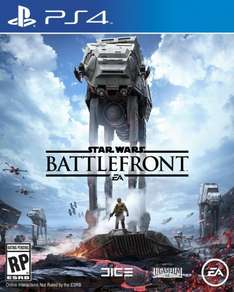 Star Wars Battlefront (Playstation 4) (US Download) für 26,69€ bei Gamedaily