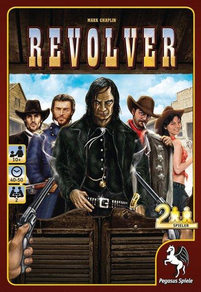 Revolver (Brettspiel, Gesellschaftsspiel, 2-Personen, Amazon.de PRIME)