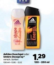 Adidas Duschgel beim schwarzen Netto (der mit Hund)