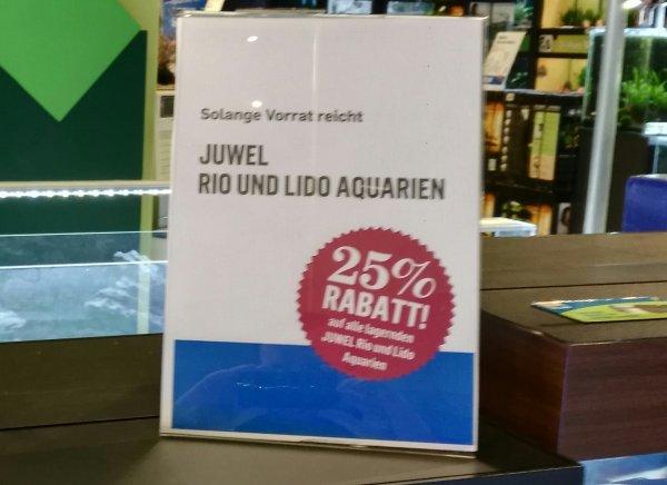 Kölle Zoo Juwel Lido 120 Aquariumkombination 25% für 179,99€ Idealo 249€ auch Juwel Rio