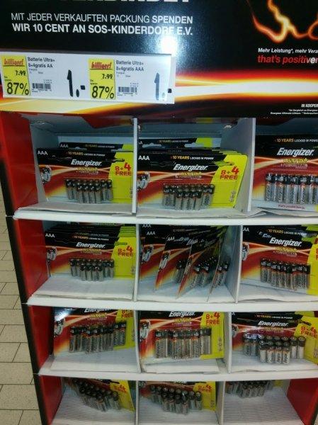 Kaufland Dresden Energizer ULTRA+ 12x Micro und Mignon (AA oder AAA)