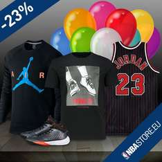 Happy Birthday Michael! 23% auf Jordan Brand im NBA Store EU