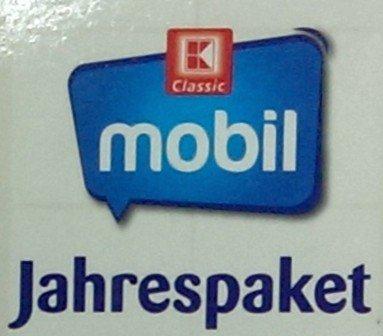 """K-Classic Jahrespaket (300 min oder sms und 300Mb) - Surf & Talk 300 - 31,80€ für 1 Jahr (2,65€ pro Monat) - keine Verlängerung - Abverkauf große """"Kaufländer"""""""