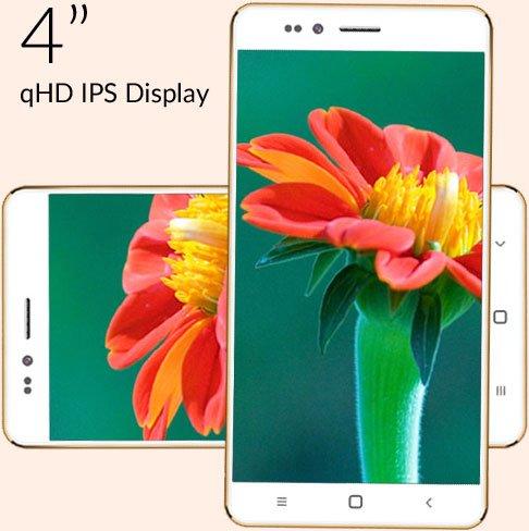 [Indien] Freedom 251 (4'' qHD IPS, QuadCore, 1GB RAM, 8GB intern, Android 5.1) für 3,30€