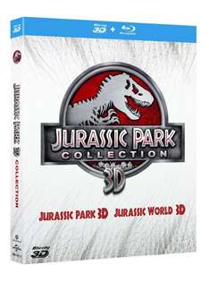 [Amazon.it] Jurassic Park 3D + Jurassic World 3D für 20,78€ (komplett auf deutsch)