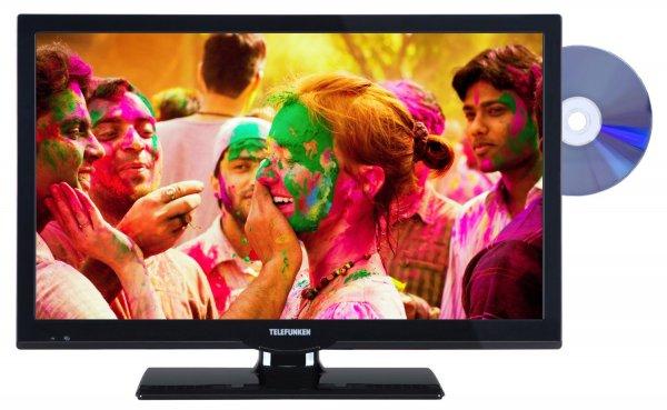 Amazon Blitzangebot: Telefunken L22F275I3D 56 cm (22 Zoll) Fernseher (Full HD, Triple Tuner, DVD-Player) für 179,99 € inkl. Versand