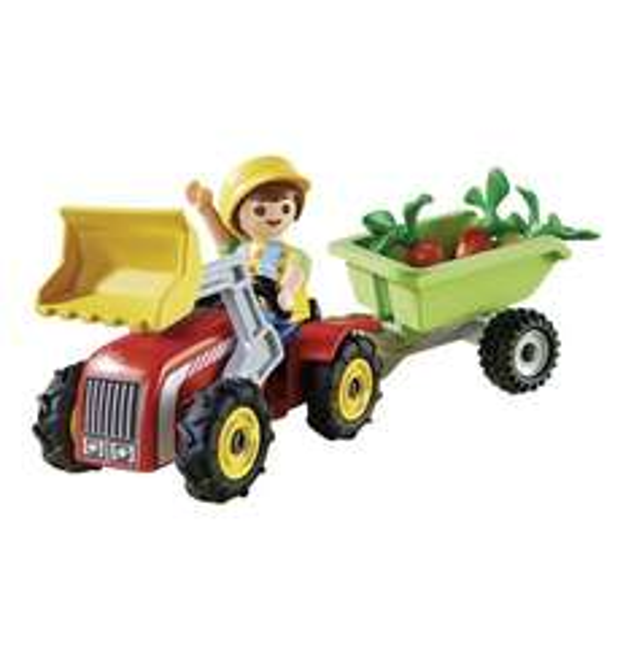 [Galeria Kaufhof] PLAYMOBIL 4943 - Junge mit Kindertraktor für 2,69€