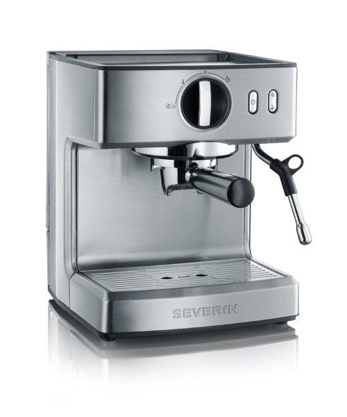 [Amazon.de] [WHD] Severin KA 5990 Espressomaschine (1200 Watt, 2,1 l, 15 bar) edelstahl-gebürstet-schwarz