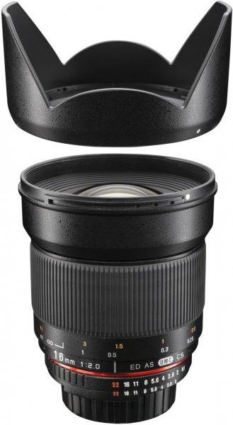 Walimex pro 16mm f2.0 für MFT (MicroFourThirds) bei Redcoon