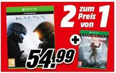 [Mediamarkt.at] Halo 5: Guardians + Rise of the Tomb Raider für 56,79€ inkl. Versand nach DE