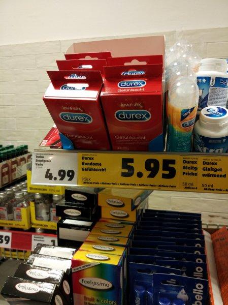 [Lokal Pforzheim] Durex Kondome Gefühlsecht 8 Stück für 5.95