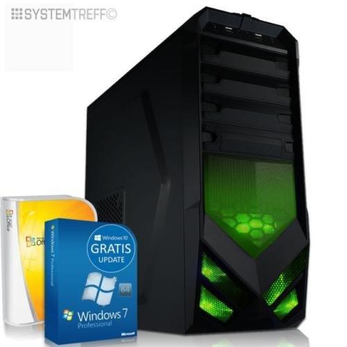 [eBay / Systemtreff] Quad Core Computer gamer A8 7600 10 Core 8gb 1TB PC Rechner Komplett System € 289,90 (keine VK)