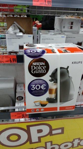 Kaufland Oberasbach (lokal?) Nescafe Dolce Gusto picollo (Krups KP100B.KA) 24,99