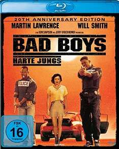 Bad Boys - Harte Jungs - 20th Anniversary Edition / Remastered 4K (Blu-ray) für 7,90€ bei Amazon (Prime)