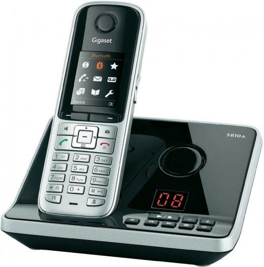 [digitalo] Gigaset Dect-Telefon S810a Stahlgrau
