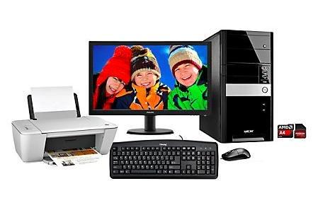 Hyrican PC Komplett Set - AMD A4-7300, 8GB Ram , 2TB HDD, Windows 10 + 23 Full HD Monitor + HP Deskjet 1510 Drucker für 598.14 € bei Weltbild.de