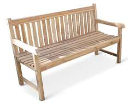 [Amazon] SAM Teak Gartenbank Caracas, 3-Sitzer, 150 cm für 149,99€