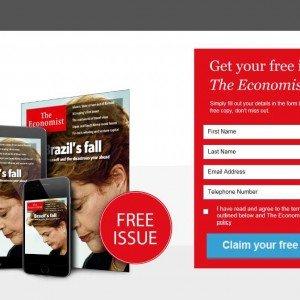 [The Economist] Eine Ausgabe kostenlos