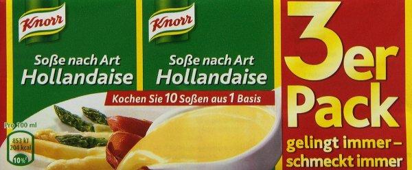 [Amazon Pantry] Knorr Soße nach Art Hollandaise 750 ml für 0,12€ als Füll- oder Zusatzartikel - Beschreibung lesen!!!