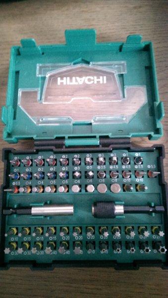 Hornbach Hitachi 60 tlg. Bit-Box