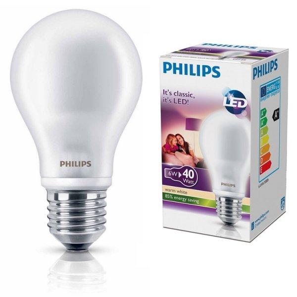 """""""[Kaufland Berlin-Tempelhof] Philips LED E27 7W (806lm) entspricht 60W Glühbirne"""