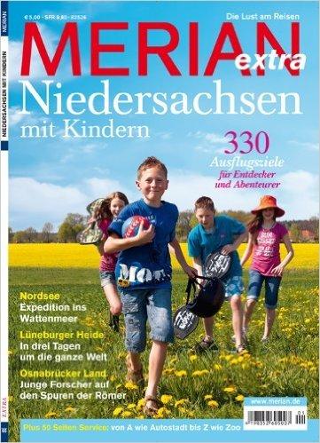 Zeitschrift MERIAN extra – Niedersachsen mit Kindern (Nr 65)