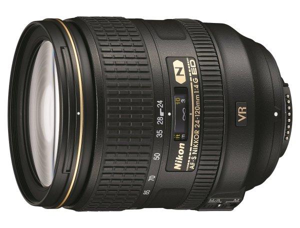 Nikon AF-S Nikkor 24-120mm f4.0 G ED VR für 665,26 € @Amazon.it
