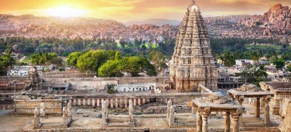 Indien Reise: 9 Tage Goa und Tempelstadt Hampi nur 556€ mit Flügen, sehr guten Hotels und Frühstück (ab München usw.)