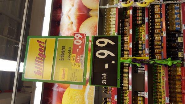 Erdbeeren 250g für 0,09€ Lokal Kaufland Meerane