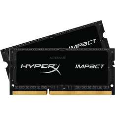 "[ZackZack] Kingston HyperX ""Impact Black"" SO-DIMM 16 GB (2x 8GB) DDR3L-1600 (CL 9) Kit für 59,90€"