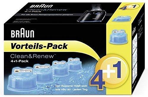 Braun Clean&Renew CCR 4+1 (5-er Pack) Reinigungskartuschen